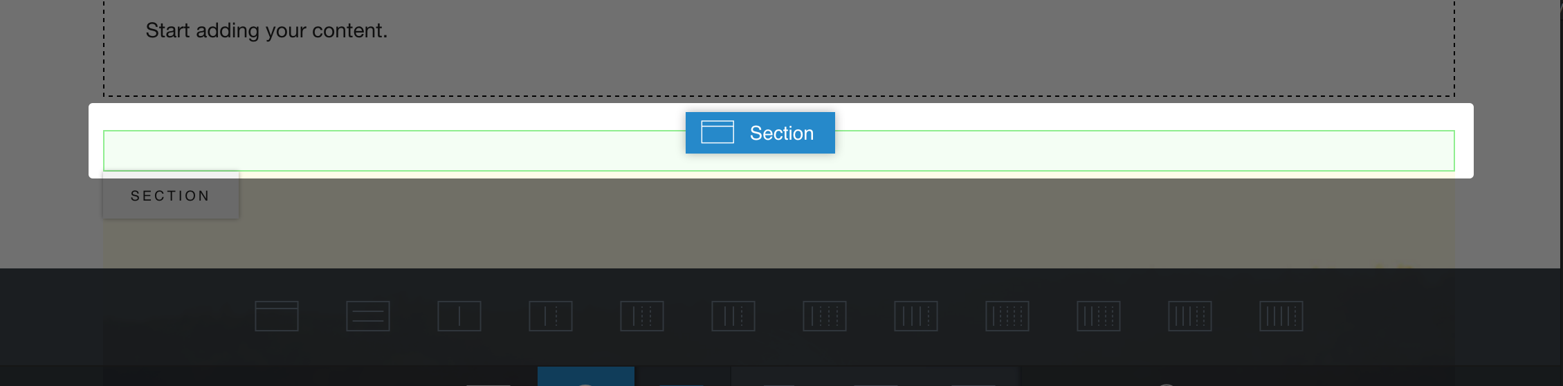 section-placeholder